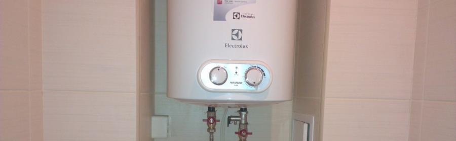 Установка и ремонт водонагревателя